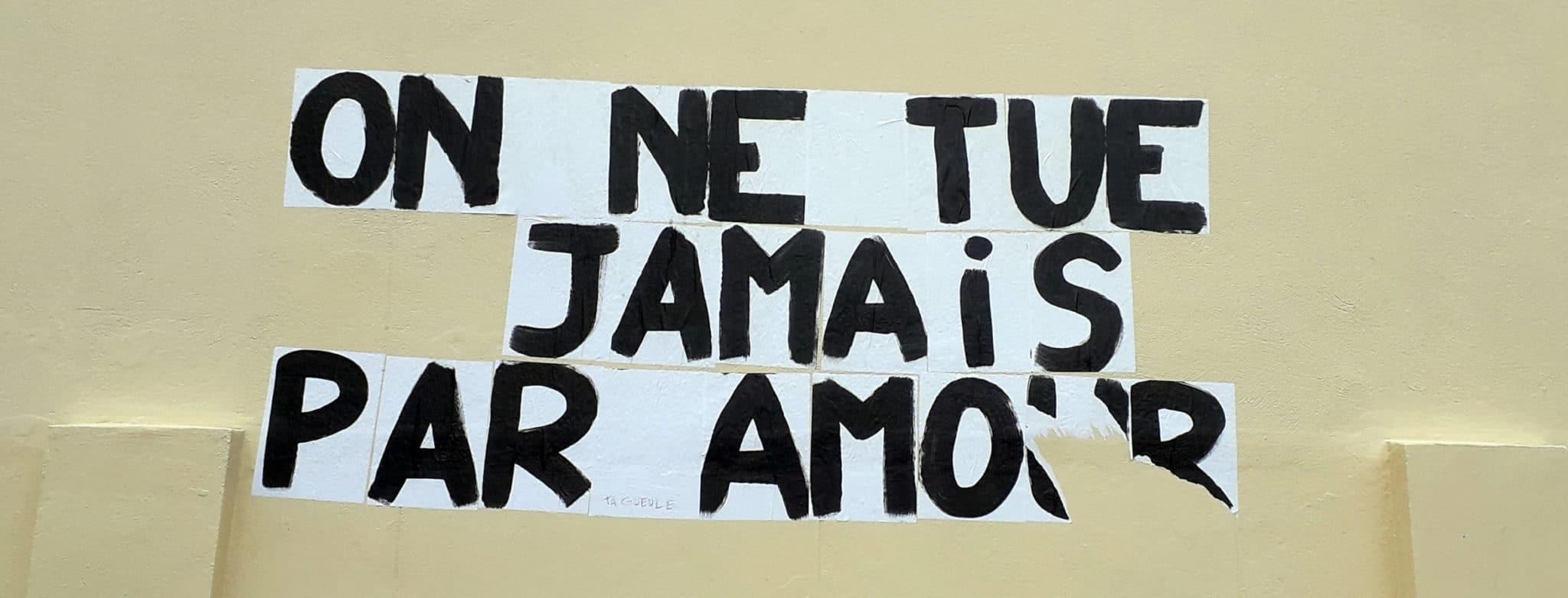 23 novembre 2019 Féminicides, violences sexistes: stop!