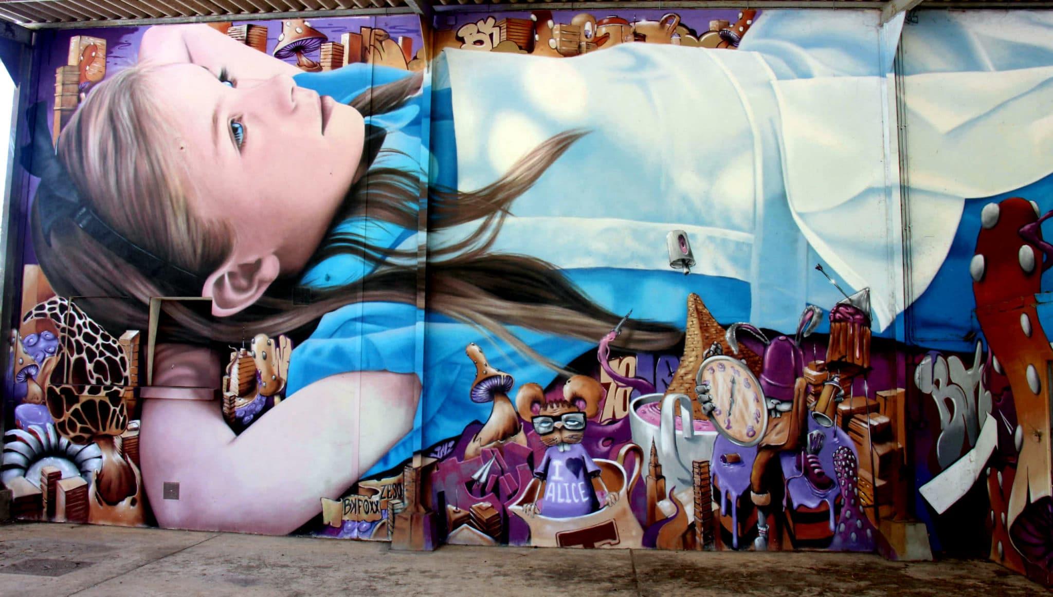 Street art City à Lurcy Lévis